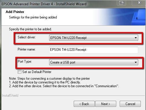 Epson Tm U220 Driver For Windows 7 64bit Premisonag Powered By Doodlekit